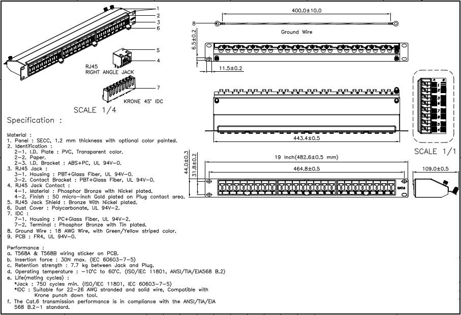 Cat6 Patch Wiring Diagram